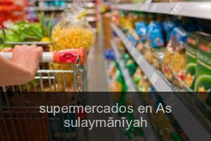 Supermercados en As sulaymānīyah